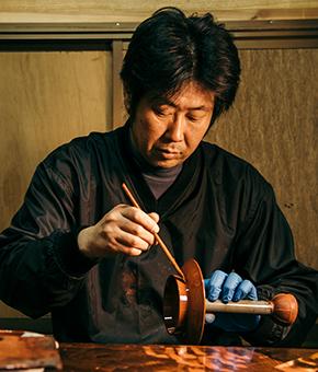 漆掻き・塗師 鈴木健司さん