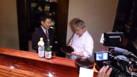 高級日本食レストランにてトップセールス及び浄法寺漆器のミニレクチャーを実施