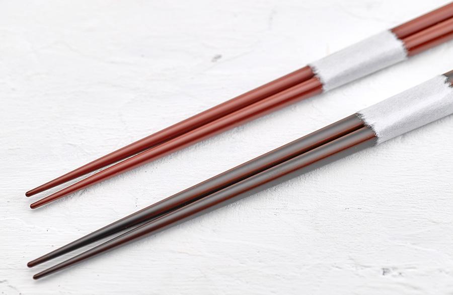浄法寺箸(朱 / 溜)