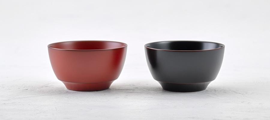 小鉢(朱 / 溜)