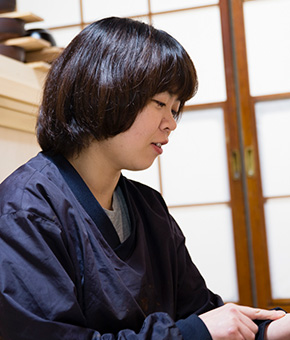 漆掻き・塗師 山崎菜見子さん