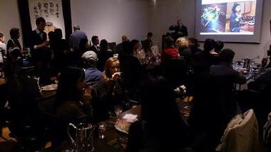 漆器と日本酒の相性についてレクチャー