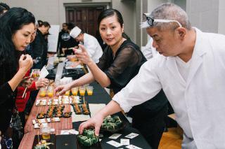 (Ⅲ)浄法寺漆および浄法寺塗、日本酒についてのセミナー、実演(12月7日)