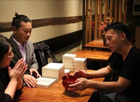 ニューヨーク日本食レストラン・セレクトショップとの商談