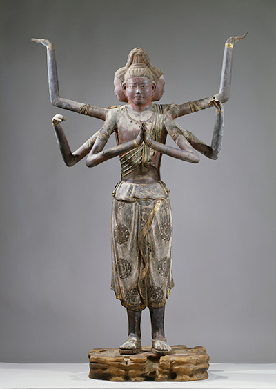 興福寺に伝わる「国宝 阿修羅像」も、麻布と漆で造形された乾漆像である。(撮影:飛鳥園 興福寺:掲載許可済)